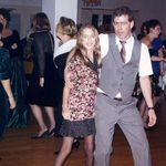 Jenifer & John, dancing. 1992