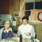 John Mininno and Grandma Mary Davies