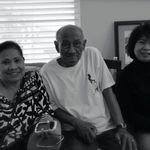 Dad and his 2 sisters Cristy and Tess