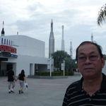 Vic at NASA, Kennedy Space Center