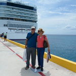 With the Norwegian Star cruise ship in the background, 10/20/2011