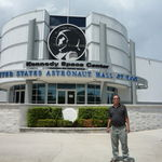 At NASA, Kennedy Space Center, 7/29/2009