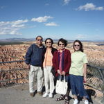 At the Bryce Canyon in Utah with my sisters, 10/19/2009