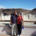 At the Hoover Dam in Arizona, 10/22/2009.