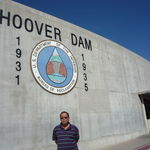 At the Hoover Dam in Arizona,10/22/2009.