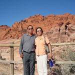 At the Red Rock Canyon in Las Vegas, 10/23/2009.
