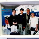 Grandma & Grandpa treated eldest grandsons to a cruise for Jr. high graduation. (1996)