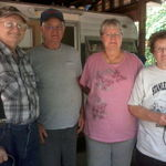Bill,Hoot,Me and Miss Zelda on Kayford Mountain