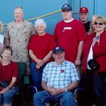 Brad Returns home from 2nd tour of Duty in Iraq 2008 Ann & Jim Lori, Brad, Betty, Greg, Cheri Ron & Rachel