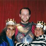 Medieval Times with sis Paulina