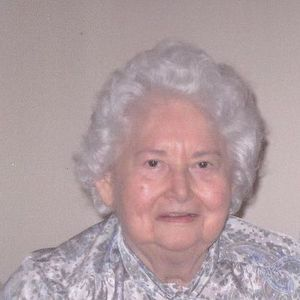 "Mrs. Winifred Lee ""Winnie"" Watts Obituary Photo"