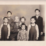 Albert's father and siblings in China.  Trivia: Albert's father was a U.S. Navy Career man and went to China to find a bride.