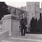 Albert at his beloved alma mater, UCLA.  Albert bled UCLA blue and gold.