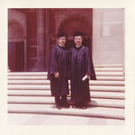 Graduation day from UCLA in 1960 with long time friend Dr. Harry Hom.