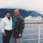 Retiring after 37 years of service with the City of Torrance, Albert enjoyed traveling with his wife Jean. Here they are taking a leisure cruise through Alaska.