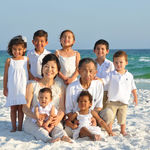 Moo-Nahm and Kim with their grandkids during a vacation in 2011