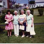 """The Girls."" Jeanne, Doris, Evelyn, and Ora."