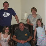 Dad, Butch, Janet, Kelsey and Sara