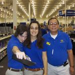 At Best Buy Store, where Vic worked part-time, 11/18/2006