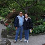 At the Butchart Gardens in Victoria, Cana, 6/3/2006