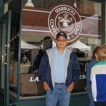 At the original Starbucks Coffee Shop in Seattle, WA, 6/5/2006