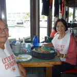 At Joe's Crab Shack in Fort Myers, FL, 6/26/2010