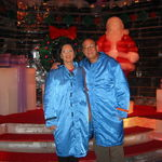 At the Ice Show at Gaylord Palms Resort in Kissimme, FL, 12/31/2005