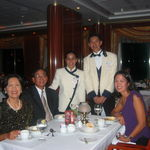 Aboard Norwegian Star on our Western Caribbean cruise, 10/20/2003