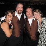 Luisa, Jim, Matt and Sara, at Pete and Lisa's wedding