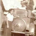 A very young Mary Arsaga Marquez