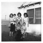 Irene, baby Vivian, Grandma Mary, Judy little Chupy, little Marian