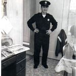 Manny in Uniform...the Daly City Firefighter 1960s.