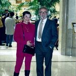 Shirley and Manny at the Palace Hotel in San Francisco, CA early 1990s.