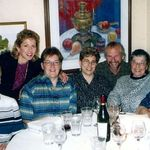 Family Dinner late 1990s.