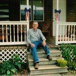 Dad at his parents house near Lutesville (Marble Hill) Missouri 