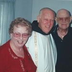 February 4, 2001 - 50th Wedding Anniversary with Fr, Frank Geers, OFM