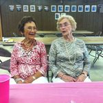 Aunt Evie and Sister Mary Jane (August 2012)