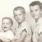 The Miller brothers, Mark, Bruce & Scott