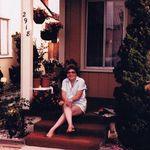 Joyce on her Porch