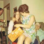 1969 - Sitting on Joan's lap