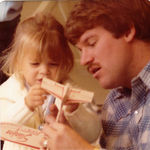 Uncle Bruce with niece, Stephanie Miller.