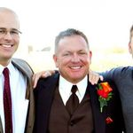 Chad, John & Tood at John's Wedding 2010