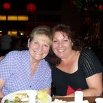 With Ruth at Fran's favorite sushi restaurant, Ra