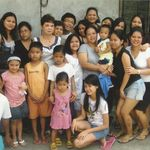 Nanay together with her Family in the Phils.