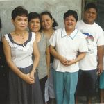 Nanay with her siblings