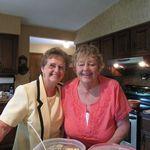 Grandma (Lois) and Barb 2012