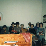 Christmas program 1984 at Hebron Church - She loved singing God's praises  and singing in a choir.
