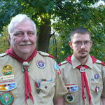 Eagle Scouting is a family business. (Bill and Andy)