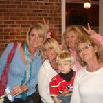 Wendy, Beth, Kim, Joyce (Mom) and Landon