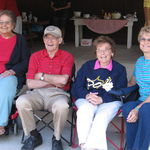 Eleanor, Jim, Sue and Joann